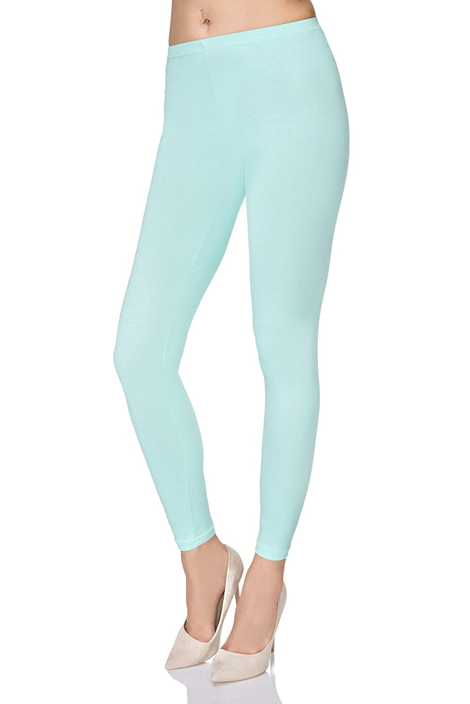 ef1f21e1e4ada MITAAMI Womens Full Length Ultra Soft Leggings New Comfort Range Plus Sizes  P25: Amazon.co.uk: Clothing