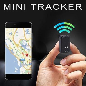 Sunneey Mini GPS Tracker, GPS – Localizador de adsorción grabación Anti pérdida Dispositivo de Control