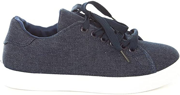 Soho Shoes Womens Lace Up Original Low Top Fashion Sneakers