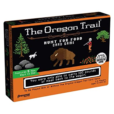 The Oregon Trail: Hunt for Food Game by Pressman: Toys & Games