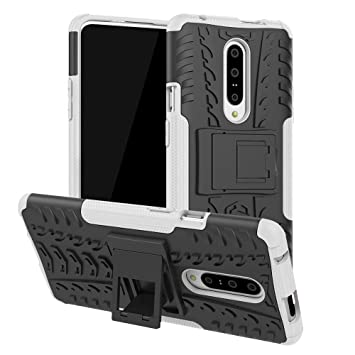 Abuenora Funda para OnePlus 7 Pro, Carcasa Antigolpes Robusta Case 360 Doble Capas Protector Resistente Golpes Caída con Soporte Cubierta para OnePlus ...