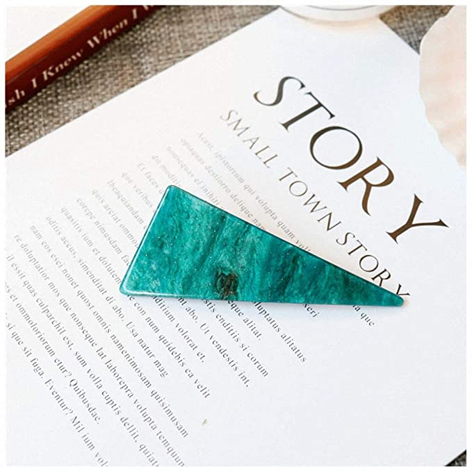 Amazon Com Pudwy Vintage Emerald Series Geometrical Triangle Hairpins And Grasp Clip Women Personality Temperament Hair Clip Hair Accessories 3 Beauty