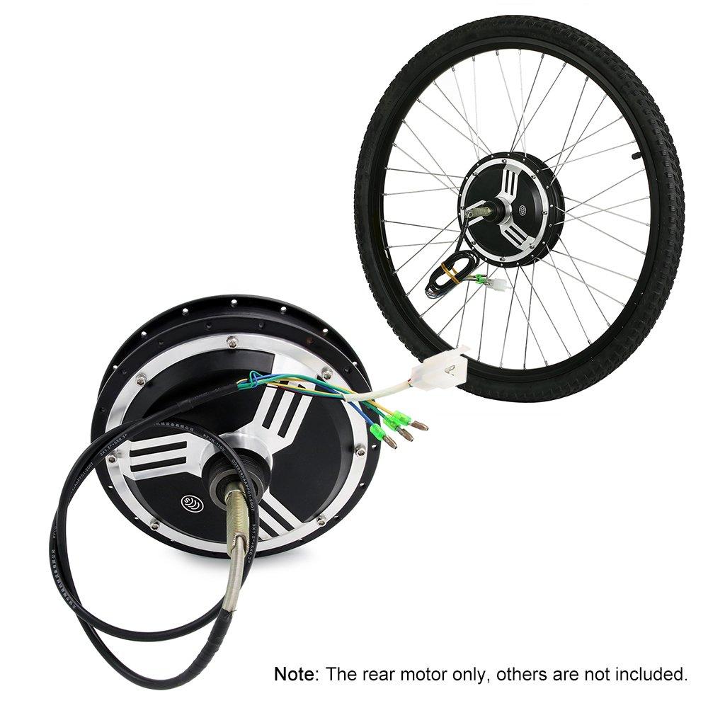 LIXADA バイク変換ハブモータ サイクル変換キット 自転車 コンバージョンリ ペアアクセサリー B07FHLXV5P