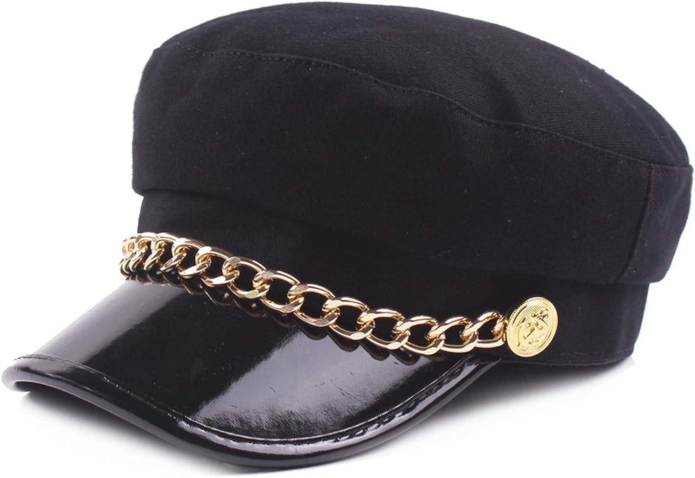 Ladies Military Hat Women...