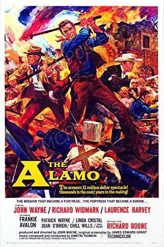 MCPosters - John Wayne The Alamo Glossy Finish Movie Poster - MCP744 (24