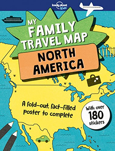 My Family Travel Map - North America (Lonely Planet Kids) ()
