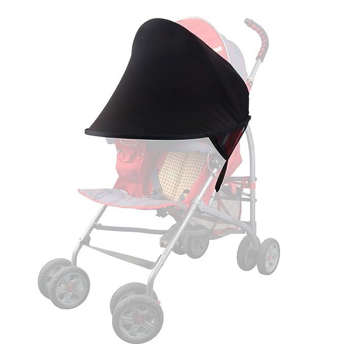 MIDWEC Cochecito para Bebes con Sombrilla – Carrito de Bebes con Cobertor para Sol – Cochecito de Bebes con Sombrilla