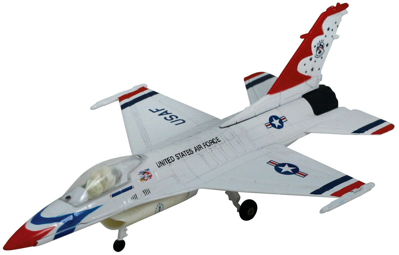 Smithsonian Museum Replica Series F-16 Fighting Falcon Thunderbird