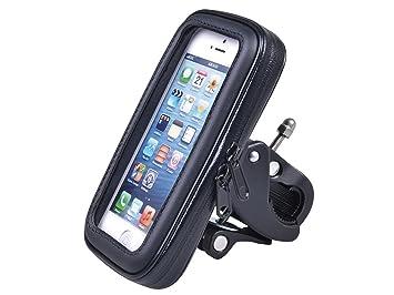 Maclean MC-688 - Soporte con Funda Impermeable de Bicicleta para navegador, Smartphone Tres tamaños S/M/L: Amazon.es: Deportes y aire libre