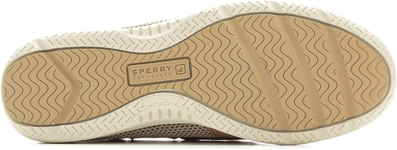Linen//Oat Sperry Top-Sider Kids Shoresider 3 Eye Boat Shoe