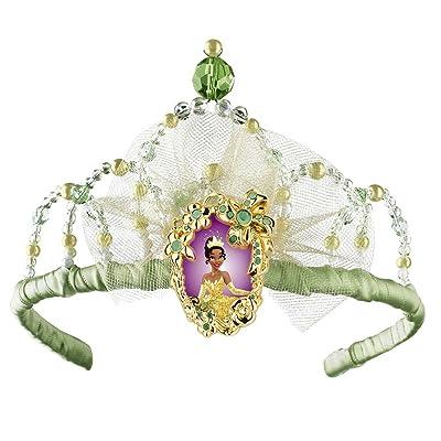 Disguise Disney Princess And The Frog Princess Tiana Tiara Costume Accessory: Toys & Games