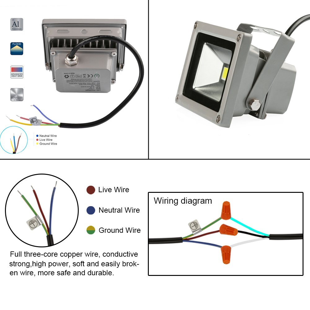 Flood Light Symbol Electrical Wiring Block And Schematic Diagrams Neutral Pir Diagram Strobe Door