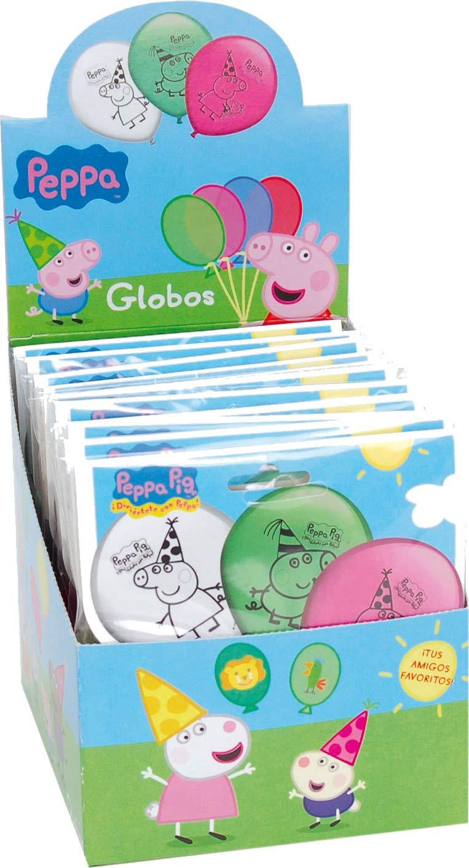 PeppaPig&Wutz: 8 Globos * Peppa Pig * como decoración para ...