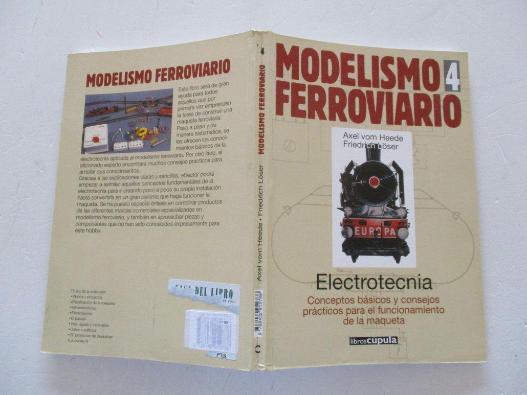 Modelismo Ferroviario 4 - Electrotecnia (Spanish Edition ...