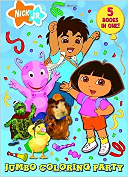 jumbo coloring party super coloring book - Jumbo Coloring Book