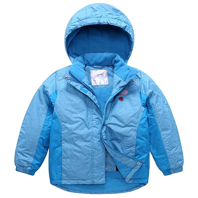 Sundwsports Chaquetas de Esquí para Niñas Niños, Traje de Nieve con Capucha Abrigo de Invierno Impermeable: Amazon.es: Ropa y accesorios