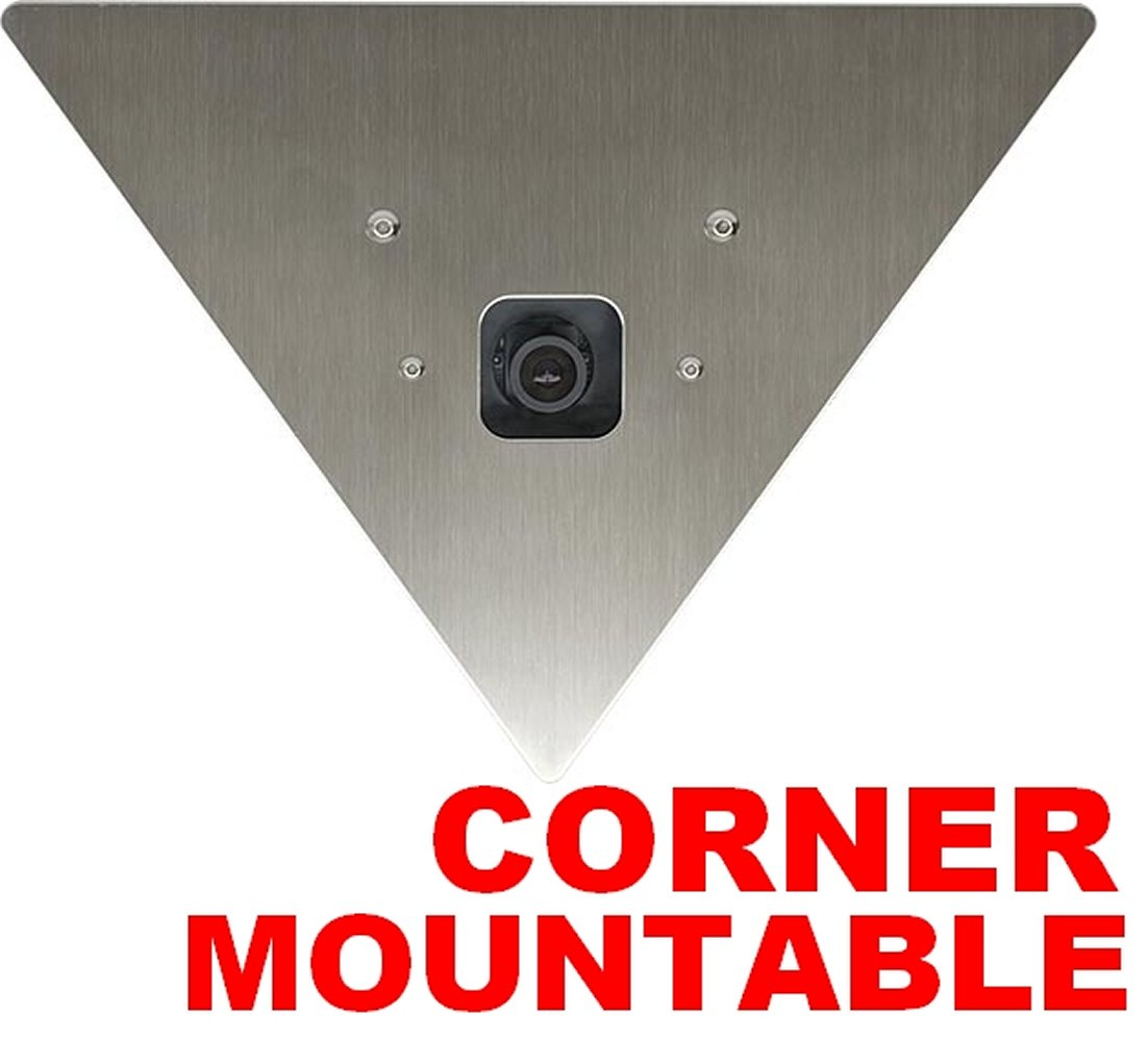 HDView 2.4MP HD-TVI Outdoor SONY Sensor Turbo Platinum Corner Triangle Camera 2.8mm Wide angle Lens 1080P, ONLY WORK WITH HD-TVI DVR