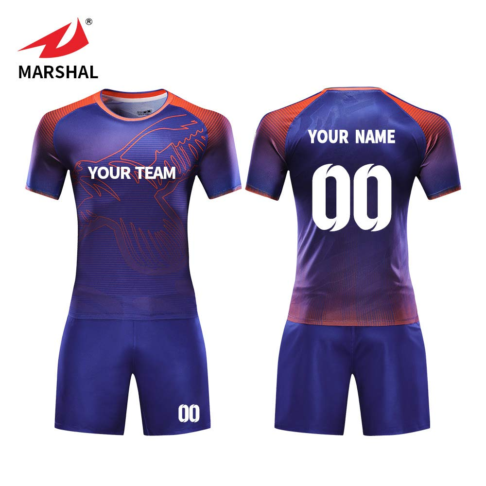 43d6ae1cd4f ZHOUKA NEW Football shirts breathable uniform custom soccer kit soccer  jerseys football shirt soccer jersey (M): Amazon.co.uk: Sports & Outdoors