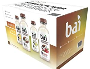 Bai 15 Piece Variety Pack, Cocofusion, 18 fl oz