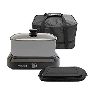 West Bend 5 QT Versatility Cooker with Tote