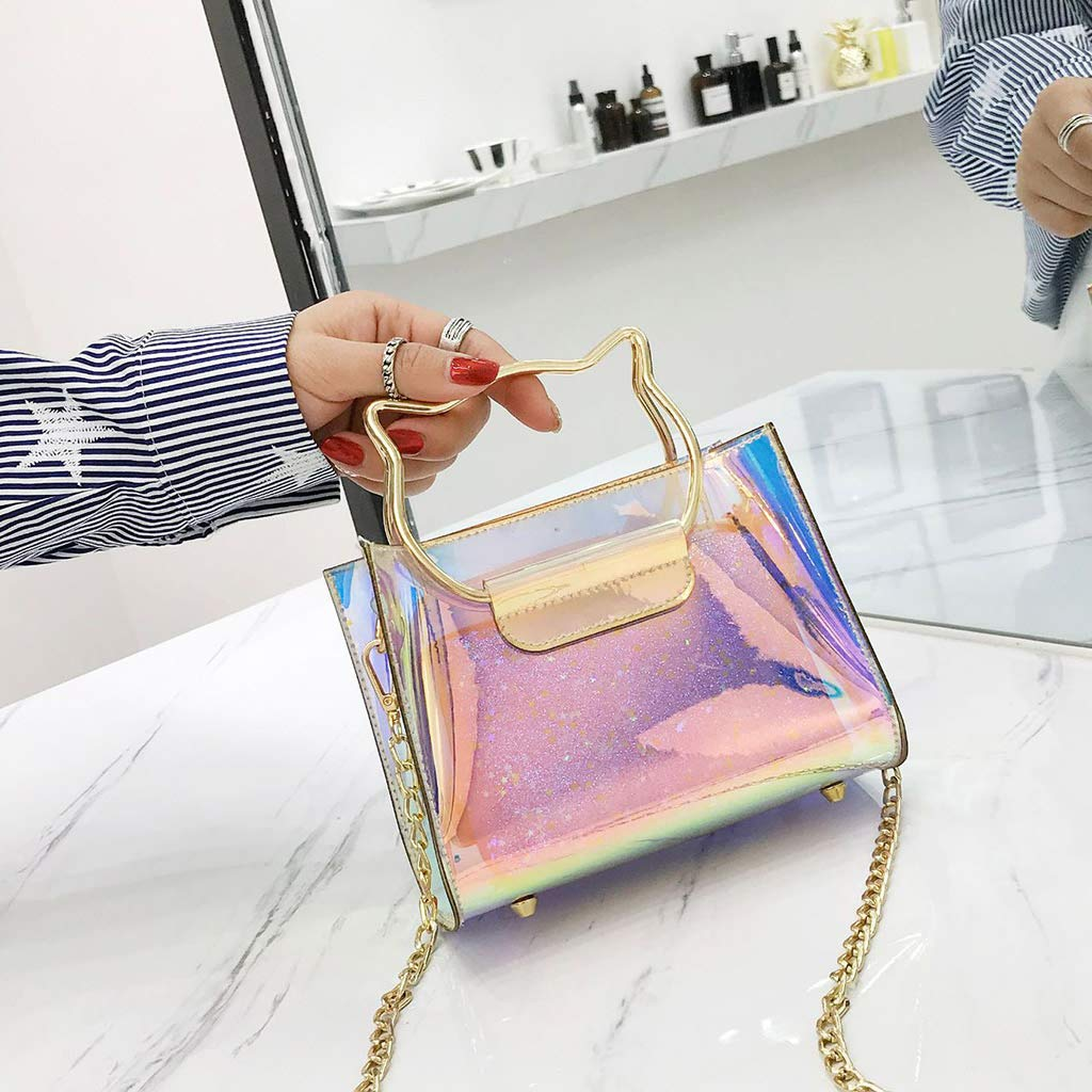 SimpleLif Metal Bag Handle,Cute Cat Ear Handle DIY Shoulder Bags Making Handbag Handle Replacement Accessories by SimpleLif (Image #9)