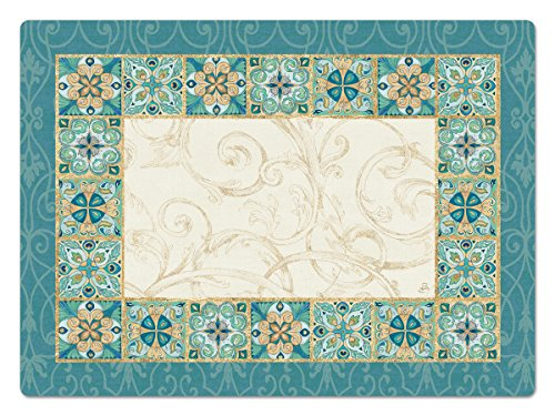 (Counterart Hardboard Placemat, Majestic Beauty, Set of 2)