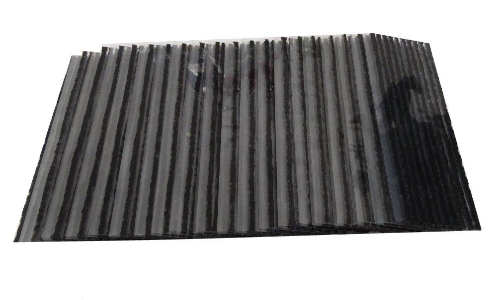 Aerzetix: Lot de 200 mè ches 20cm 4mm pour kit de ré paration crevaison de pneus tubeless - C2332 3800946171638