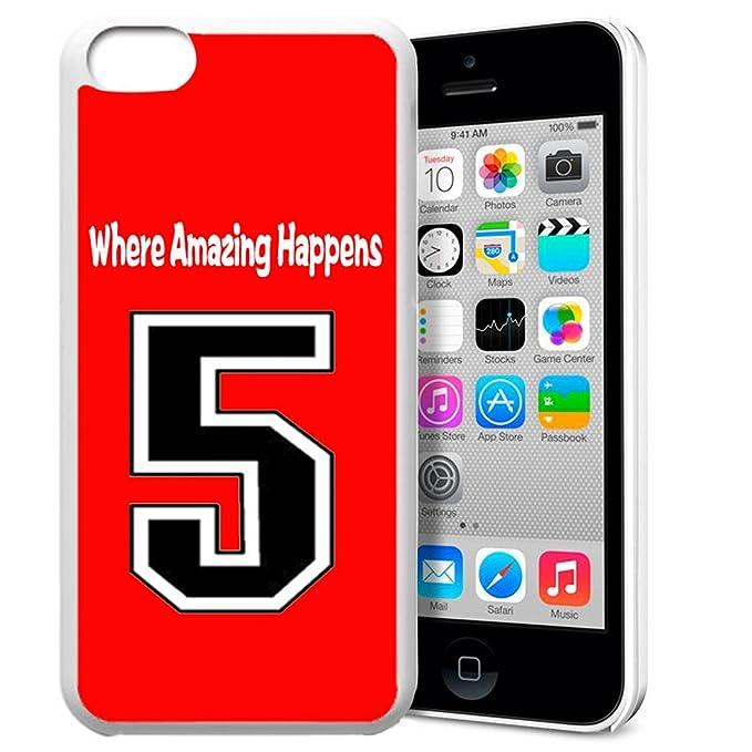 iPhone 5 C Funda, heavi diseño único Baloncesto Sportsman Uniforme ...