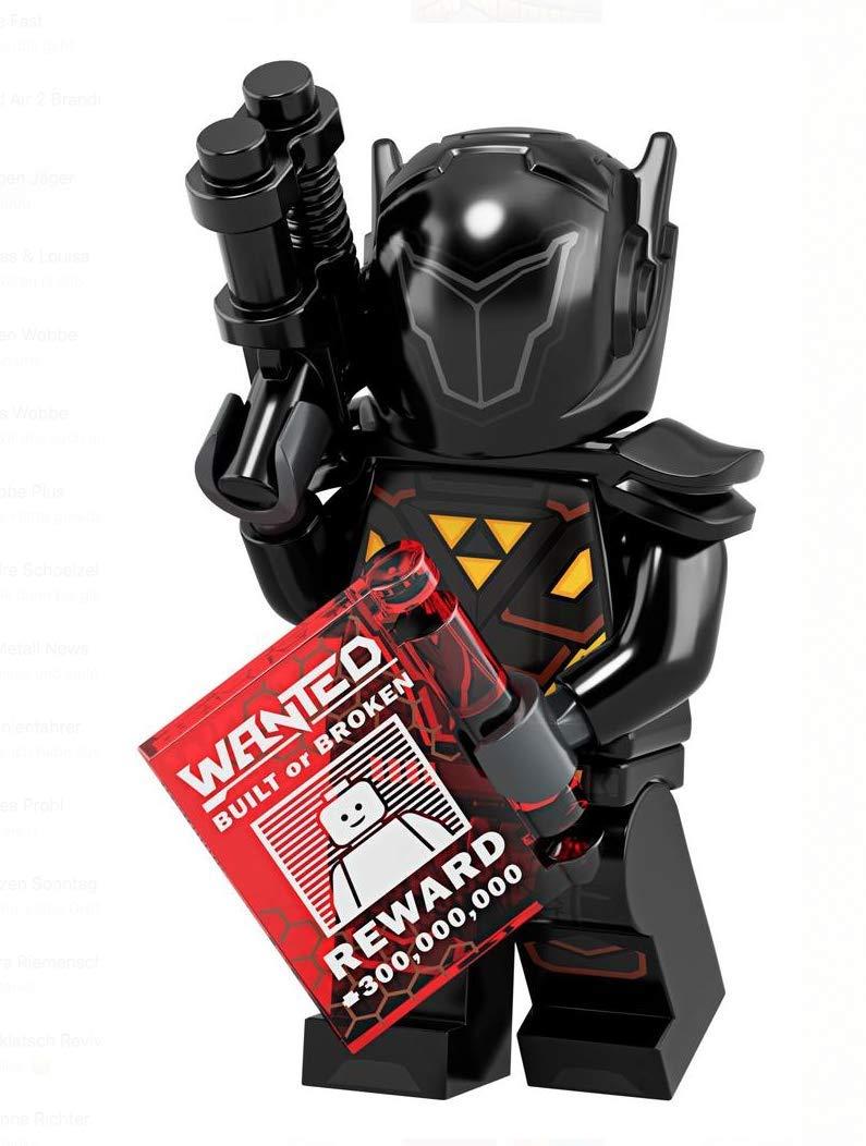 LEGO Minifigures Series 19: Galactic Bounty Hunter Blacktron Minifigure 71025