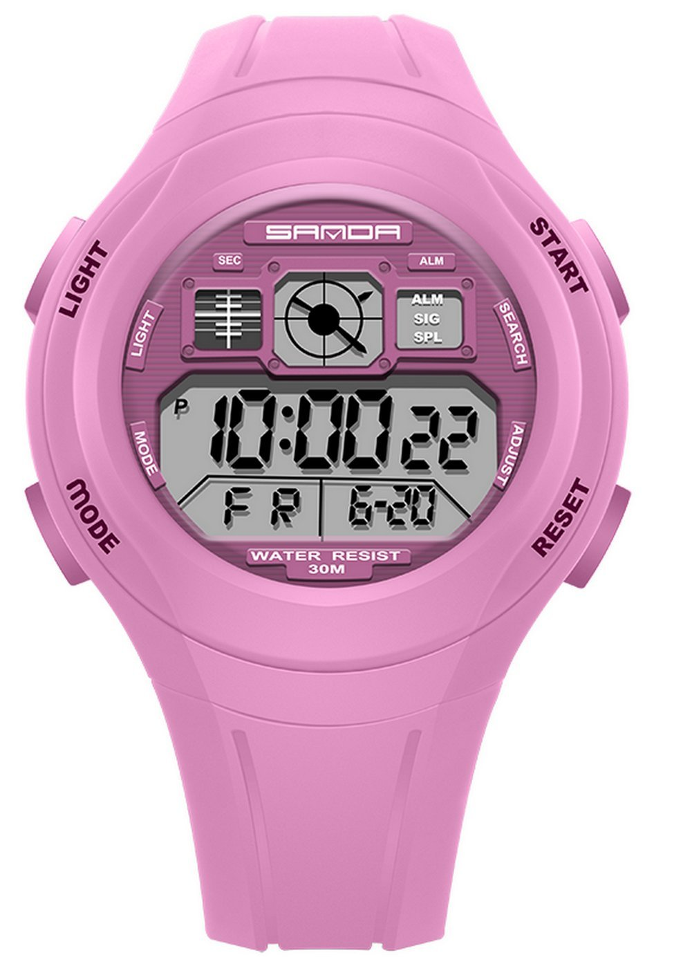 Water-proof Digital Outdoor LED Kids Sport Watches For Ages 7-10 Years Old Boys Girls