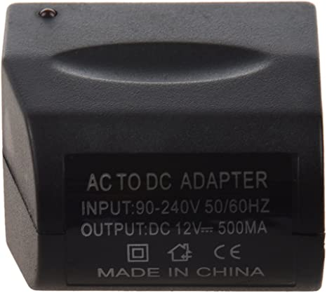 TOOGOO R Alimentatore di corrente alternata delladattatore 110V-220V delladattatore dellaccenditore della sigaretta dellautomobile di DC 12V a 12V DC
