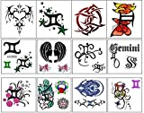 Gemini Collection (Gemini Temporary Tattoos)