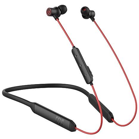 best website 54936 a8fd8 GEVO GV28 Qualcomm Bluetooth V5.0 Wireless Earbuds Waterproof IPX6 [16.5Hrs  Playback] Neckband HiFi Bluetooth Headphones for iPhone Samsung LG Moto ...