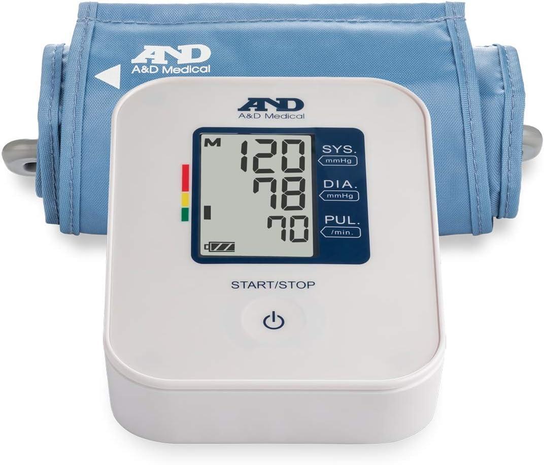 A&D Medical Upper Arm Blood Pressure Monitor with Medium Cuff (UA-611)