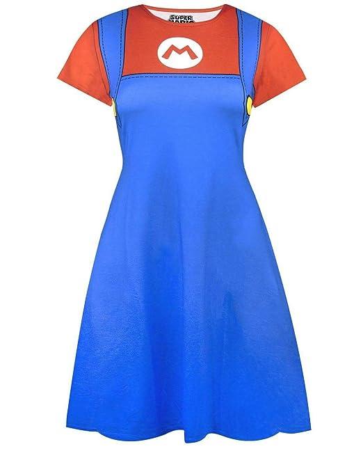 Super Mario Costume Dress: Amazon.es: Ropa y accesorios