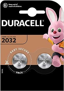Oferta amazon: Duracell - Lote de 2 Pilas de botón (Litio, 2032 CR2032 DL2032)