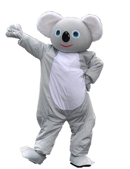 Cute girl adult koala bear costume
