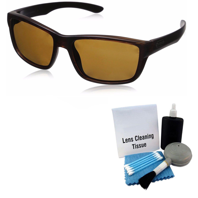 629f93f8c4 Amazon.com   Suncloud Mayor Injection Sunglasses - Burnished Brown Frame
