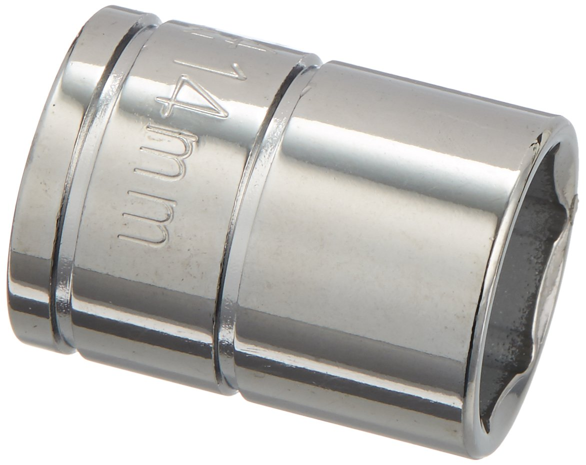 Williams 31514 14mm Shallow 6-Point Socket with 3//8-Inch Drive