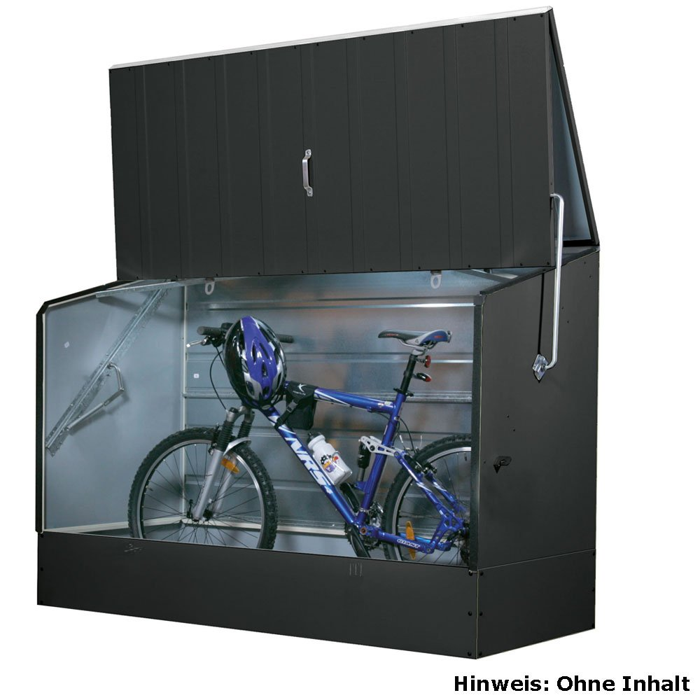 #Fahrradbox Tepro anthrazit#