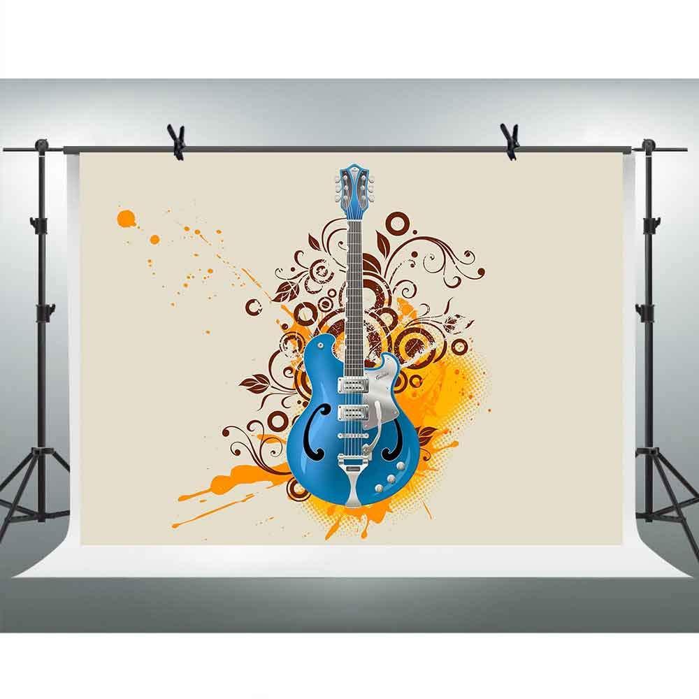 同梱不可 壁紙 ポートレート 背景 楽器 写真 バックドロップ エレキ