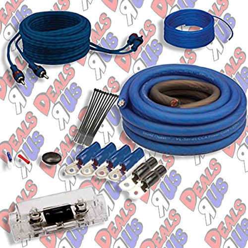 Soundquest SQK4ANL CCA 4 Gauge Wiring Kit