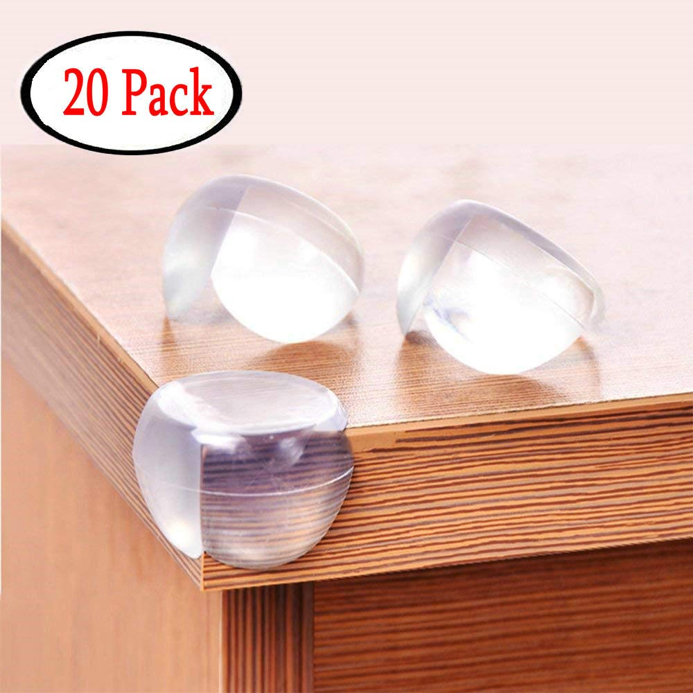 Baby Corner Guards (20 Pack), Child Safety Table Corner Protectors Sharp Furniture Baby Proof CiaraQ
