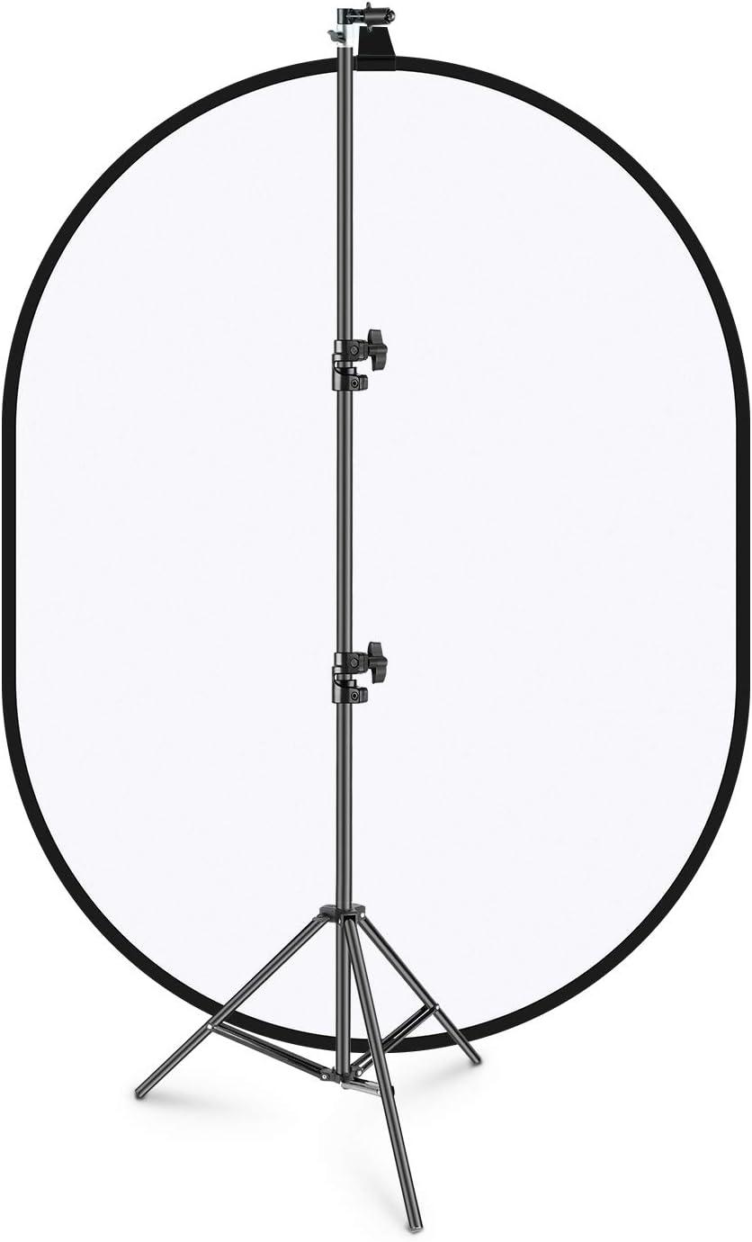 Neewer 150x200cm Chromakey Weich Weiß Hintergrund Mit Kamera