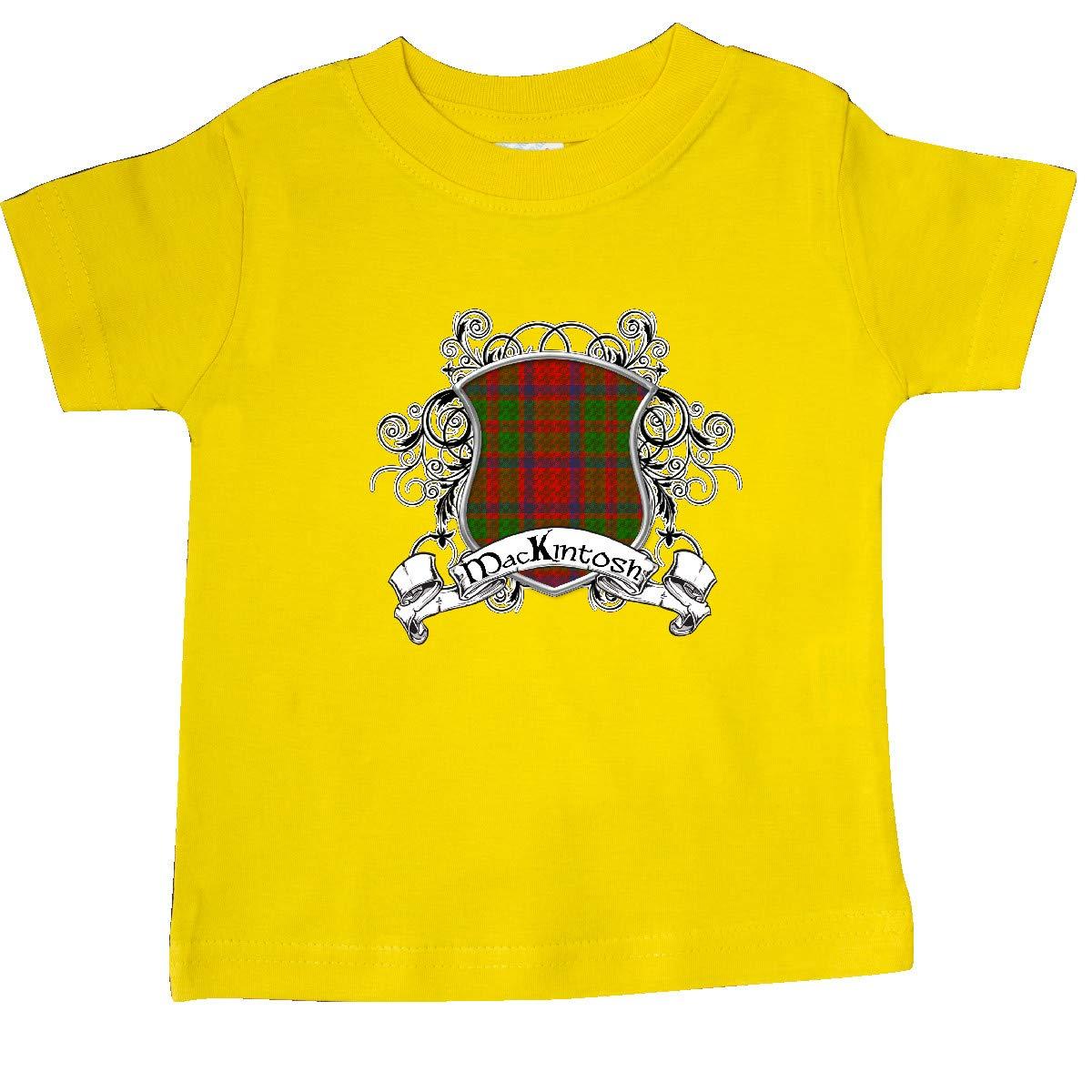 inktastic Mackintosh Tartan Shield Baby T-Shirt