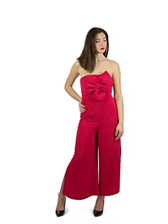 d9638121538 Guess Women s Jumpsuit - Red - UK 6  Amazon.co.uk  Clothing