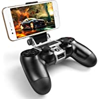 PS4 Wireless Controller Phone Clip Holder Clamp Mount Stand for PlayStation 4 (black)