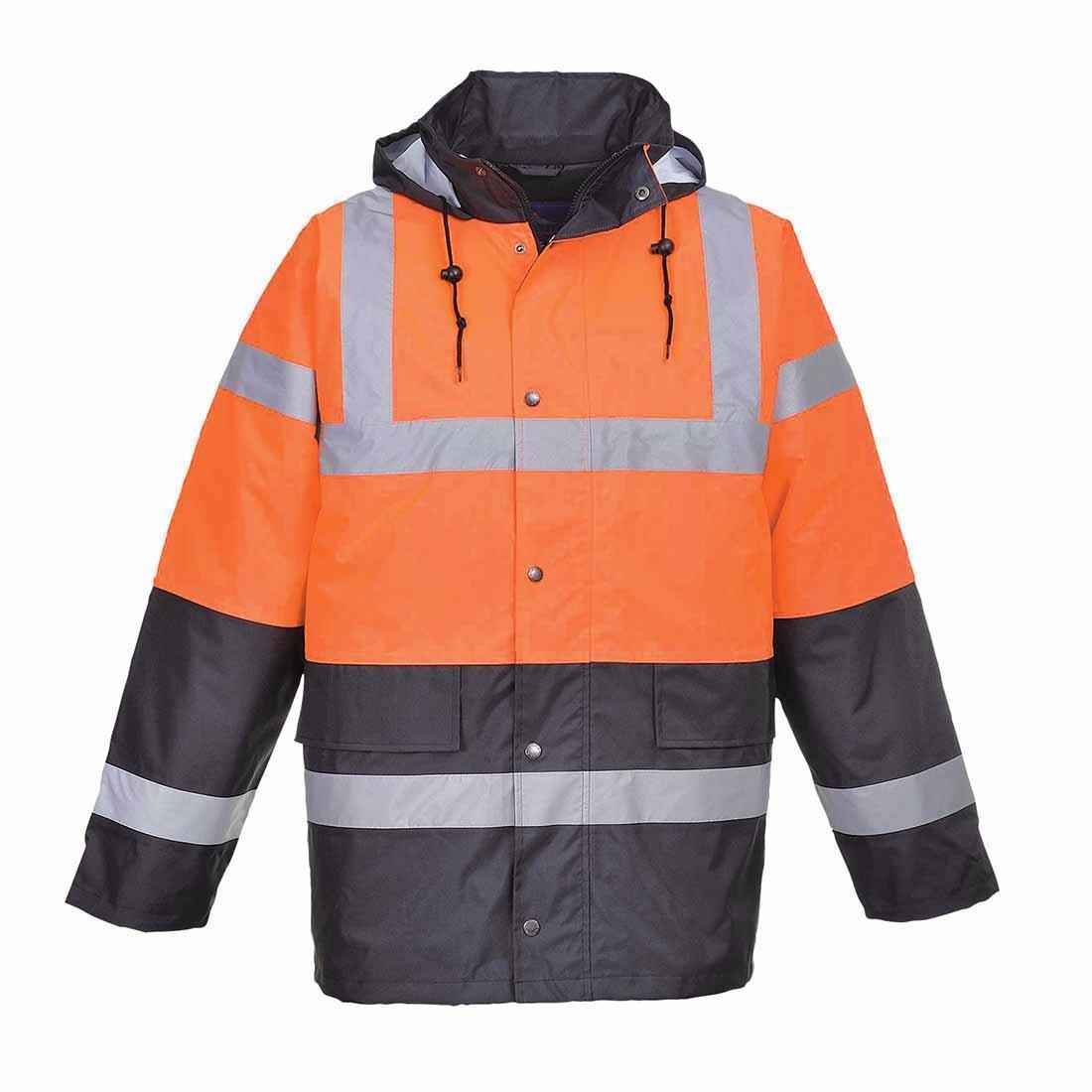 Portwest S467ogyxxxl Bicolore à haute visibilité Trafic Veste, Regular, taille 3X L, Orange/gris taille 3X L Portwest Clothing Ltd