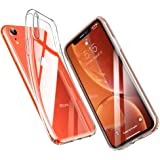 "iPhone XR Cover, ESR Slim Clear Soft TPU iPhone XR Case Back Cover for iPhone XR 6.1"" (Transparent Clear)"