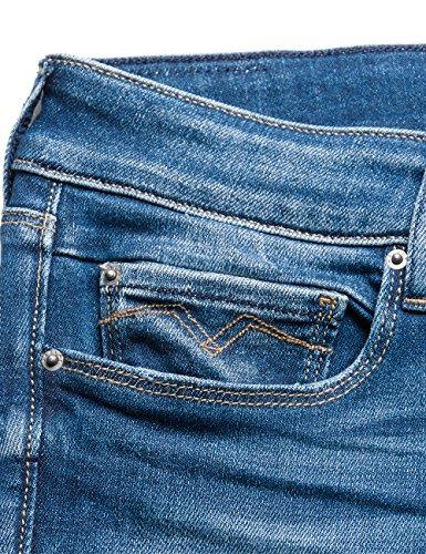 blue Jeans Donna 9 Denim Blu Slim Replay Rose Hvqn8Fpx